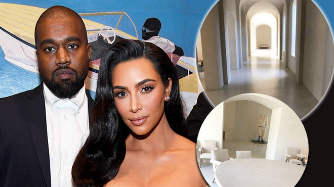 Kim Kardashian shares photos of her family home with husband Kanye West