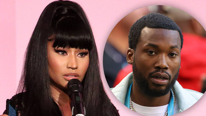 Nicki Minaj and ex-boyfriend Meek Mill got into a heated Twitter spat last night.