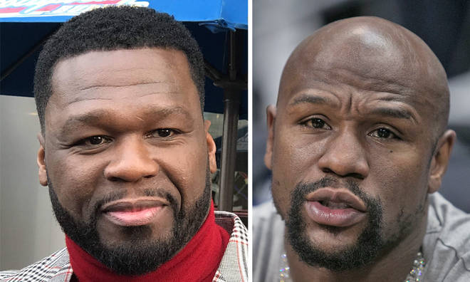 50 Cent trolls Floyd Mayweathe with Louis Vuitton bag meme