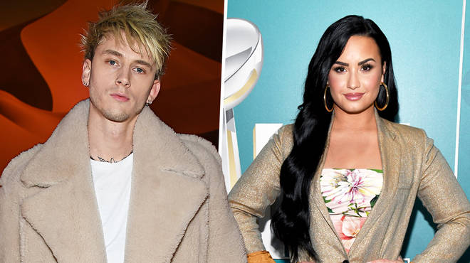 Machine Gun Kelly & Demi Lovato are reportedly dating