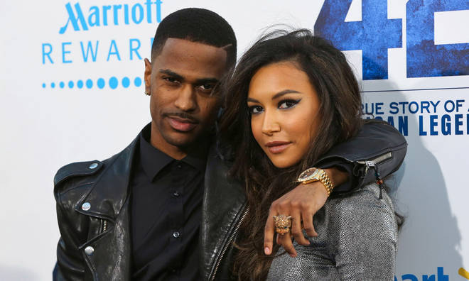 Rapper Big Sean and actress Naya Rivera attend the premiere of Warner Bros. Pictures' And Legendary Pictures' '42' at TCL Chinese Theatre on April 9, 2013 in Hollywood, California.