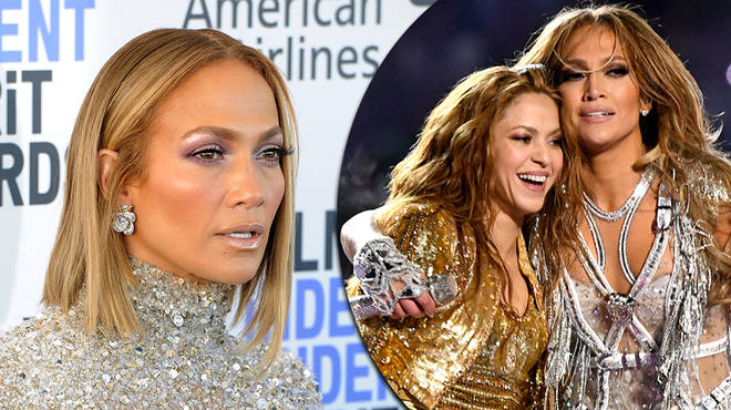 "Jennifer Lopez responds to critics who claims her Super Bowl performance was ""too sexy"""