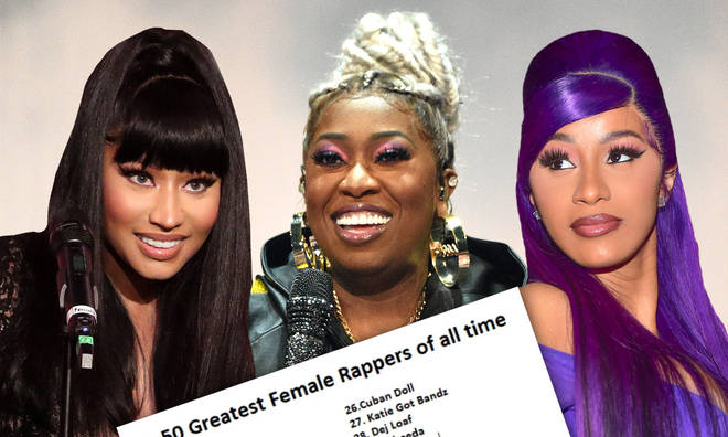 A list of the greatest female rappers in history has surfaced online.
