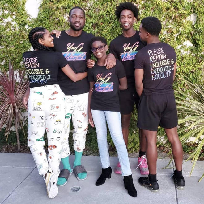"""""""Me and my wife Gabrielle, we are proud parents of a child in the LGBTQ+ community and we are proud allies as well,"""" said Dwyane on his son&squot;s gender journey."""