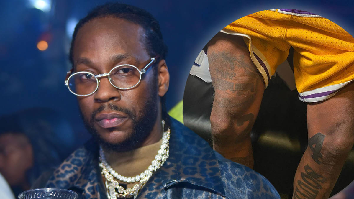 2 Chainz pays tribute to Kobe Bryant with giant leg tattoos