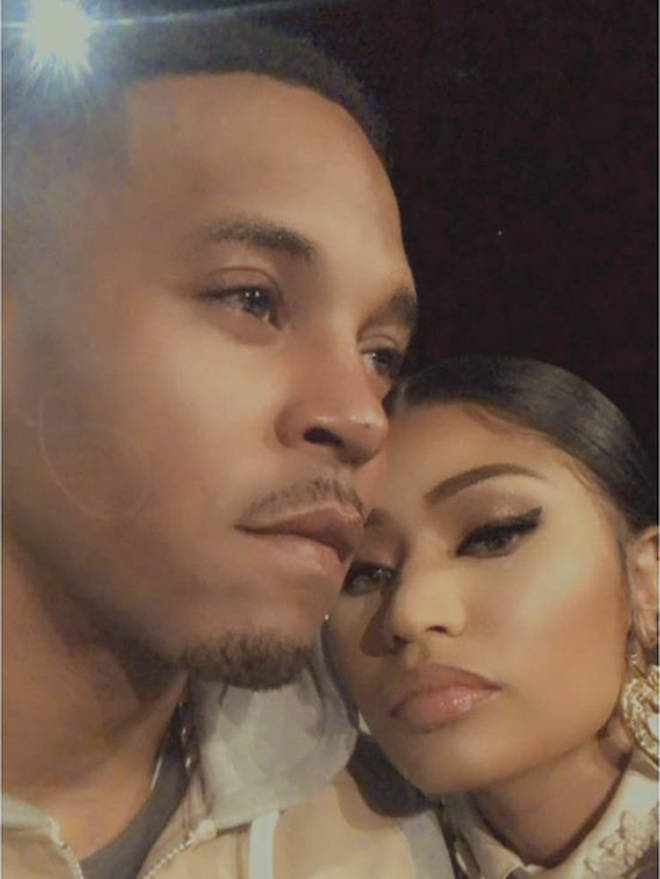 Nicki shares photo of her and husband Kenneth Petty at NYFW