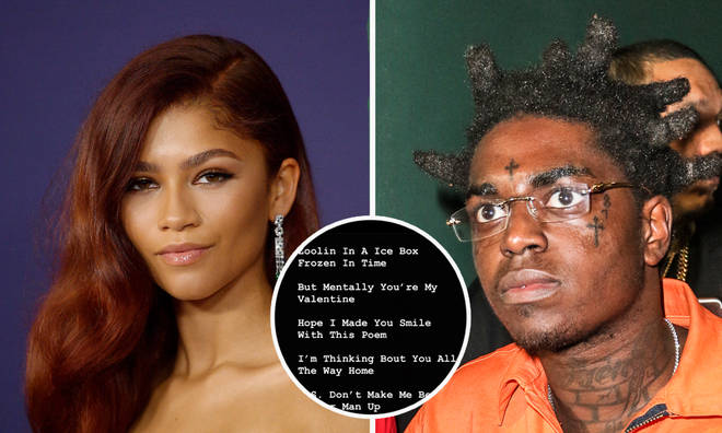Kodak Black writes love poem to Zendaya from jail