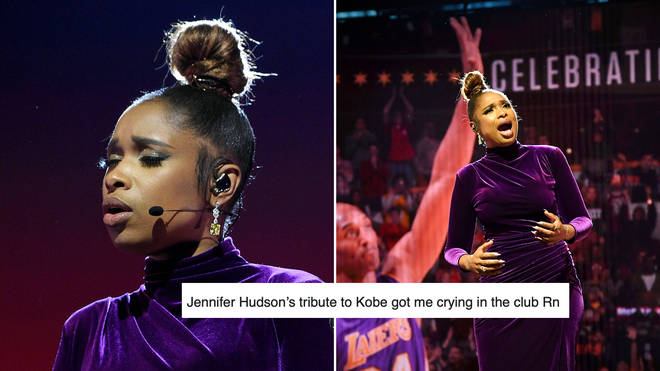 Jennifer Hudson brought viewers to tears with her Kobe Bryant tribute at the NBA All-Stars game.