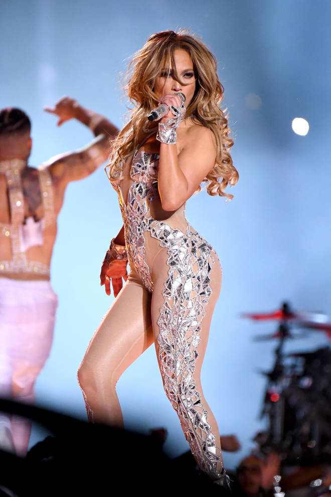 Jennifer Lopez performed a medley of her biggest hits at the Pepsi Super Bowl LIV Halftime Show.