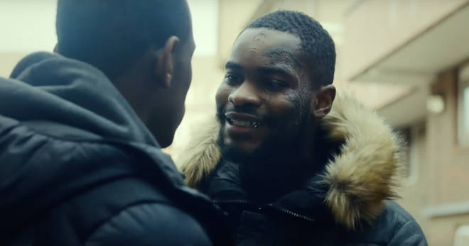Dave plays 'Modie' in Top Boy on Netflix.