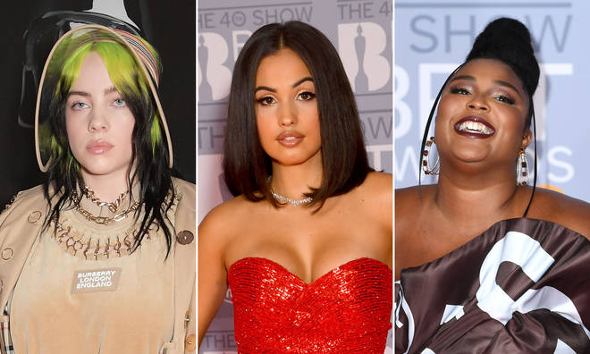 The stars of the Brit Awards 2020 brought the glamour.