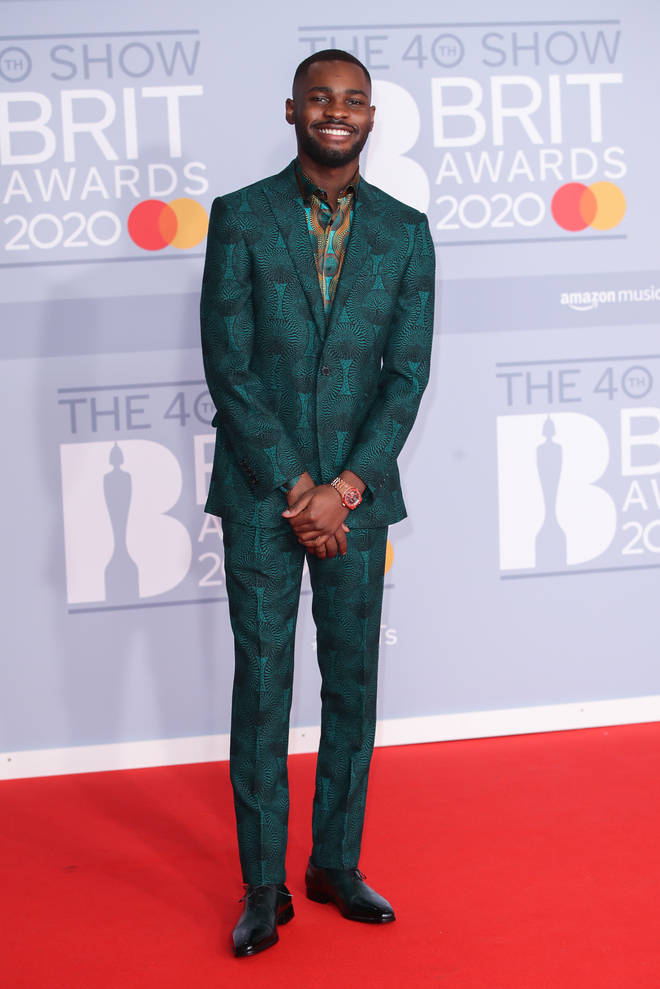 Dave looked sharp in a green suit.