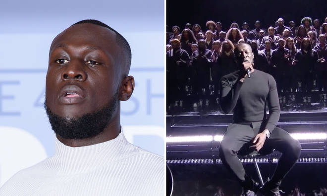 Stormzy performed a medley of songs from his second albujm 'Heavy Is The Head'.