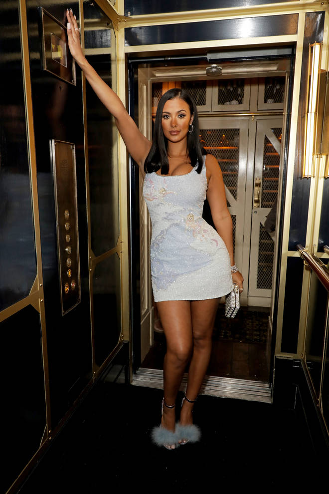 Maya Jama attended the same Warner Music BRIT Awards afterparty at The Chiltern Firehouse as ex Stormzy.