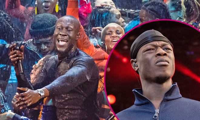 J Hus tribute during Stormzy's BRITs performance had everyone confused