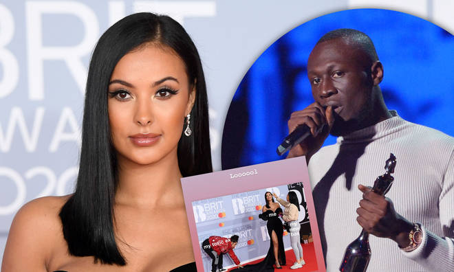 "Maya Jama posted a meme about her ""toxic ex"" after the BRIT Awards 2020."