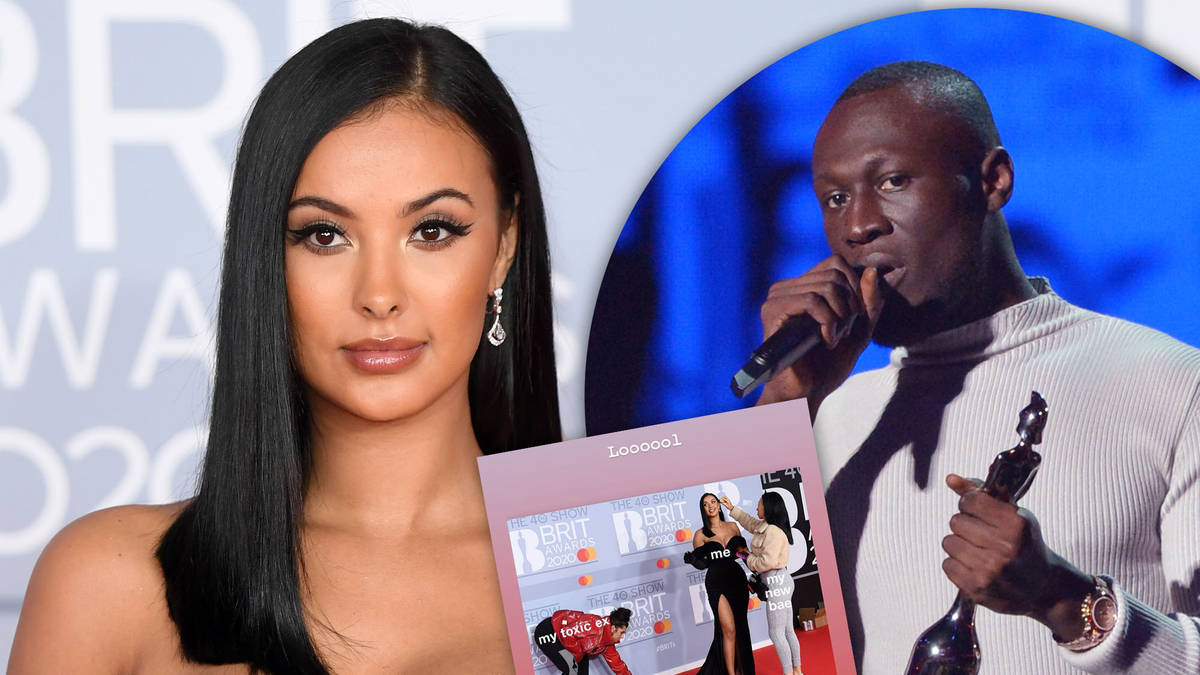 """Maya Jama shares cryptic post about her """"toxic ex"""" after watching Stormzy win at the BRITs"""