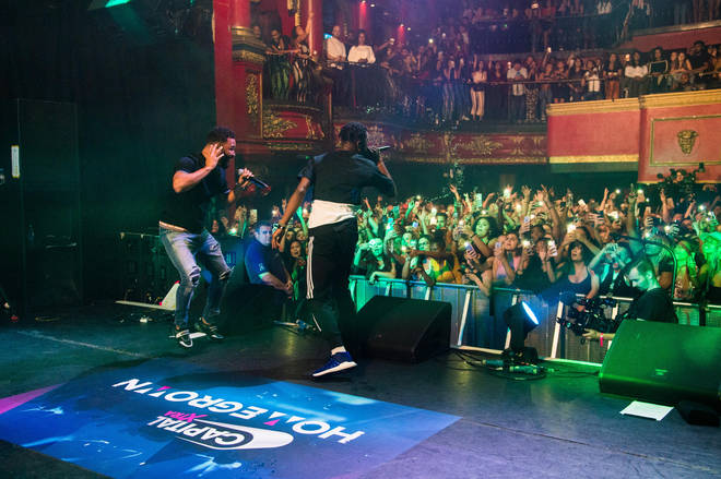 Yungen & Yxng Bane Performing At Capital XTRA Homegrown Live
