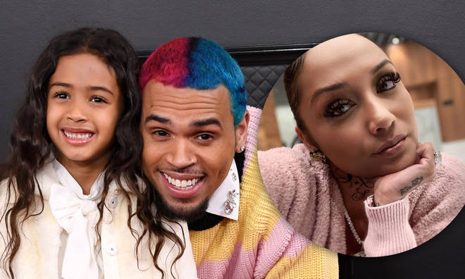 Nia Guzman shares 5-year-old Royalty with Chris Brown.