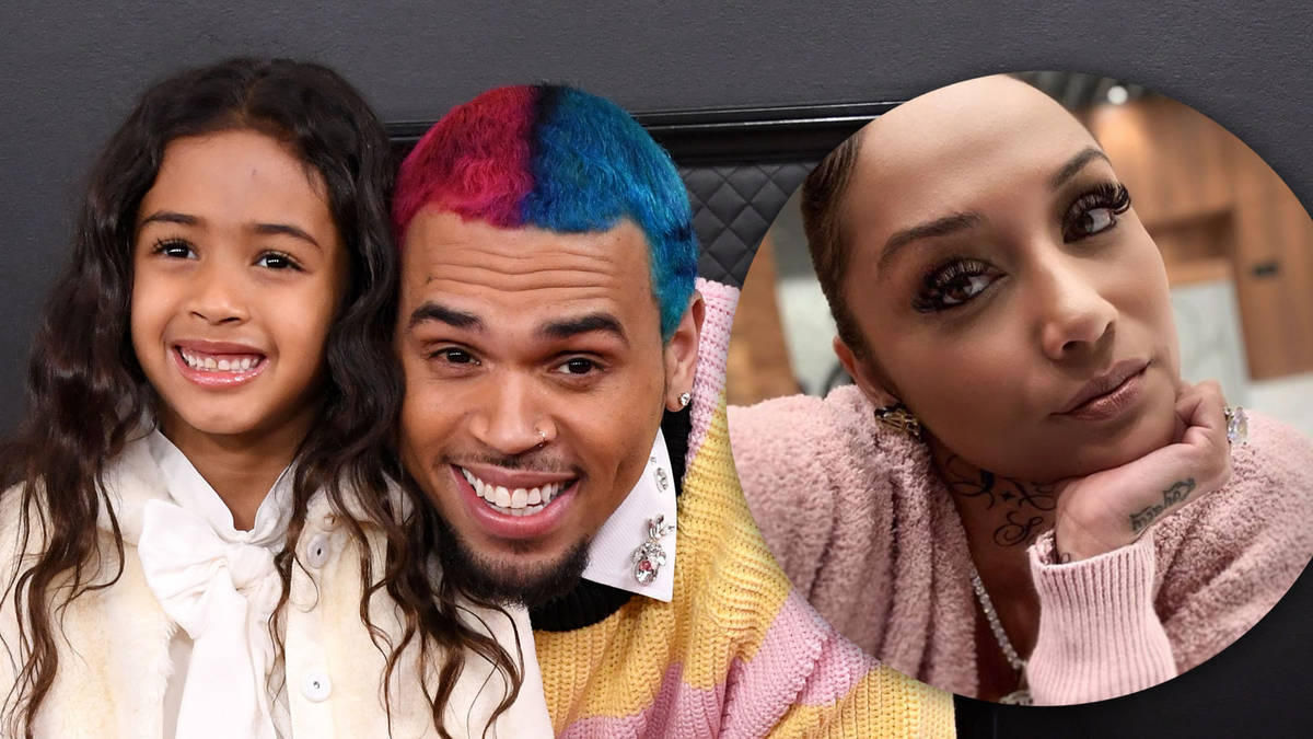 Chris Brown's baby mama says daughter Royalty, 5, will be more successful than her dad - Capital XTRA