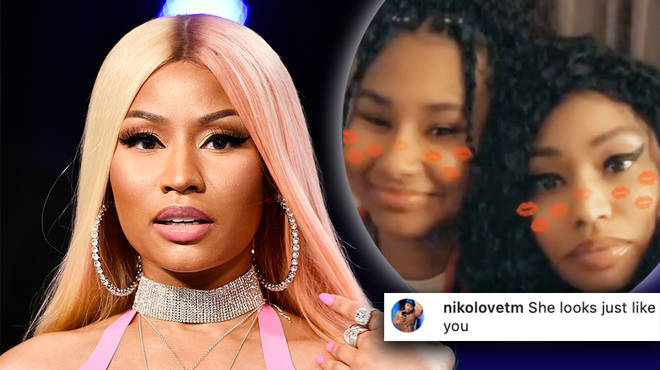 Nicki Minaj shares rare video with her younger sister and father