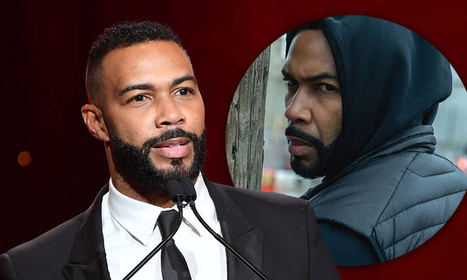 Omari Hardwick clapped back at a Power fan who told him to stick to playing Ghost.