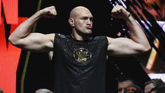 Tyson Fury fights Deontay Wilder in Las Vegas