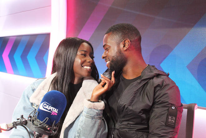 Mike Boateng and Priscilla Anyab were all smiles after leaving the Love Island villa last week.