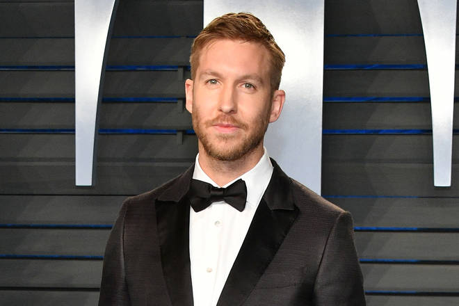 Calvin Harris attends the 2018 Vanity Fair Oscar Party hosted by Radhika Jones at Wallis Annenberg Center for the Performing Arts on March 4, 2018 in Beverly Hills, California.
