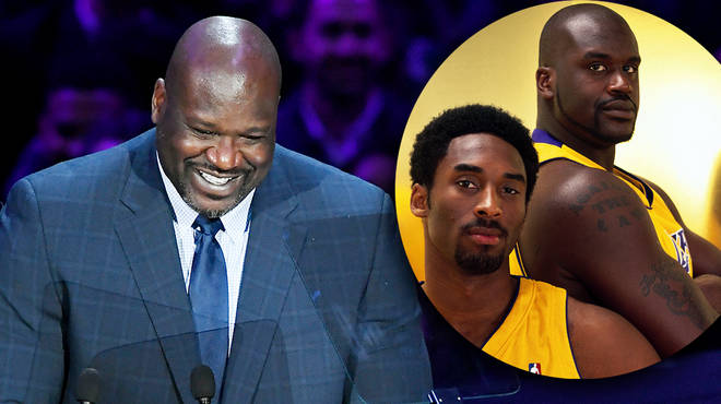 Shaquille O'Neal tells anecdotal joke about Kobe Bryant during memorial service speech
