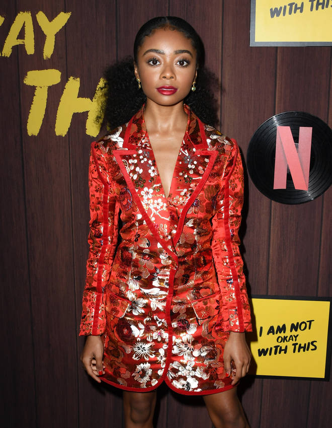 Skai, 17, appeared unbothered by the drama as she subtly responded on Twitter.