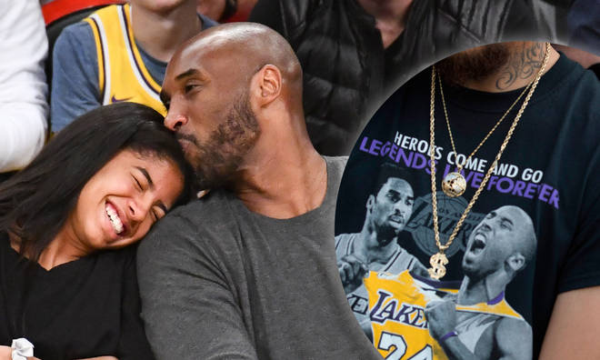 Gifts from the memorial honouring Kobe Bryant and his daughter Gianna are being flogged online.