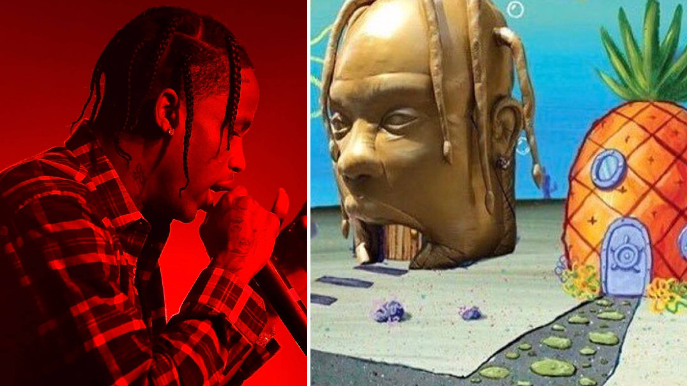 Travis Scott's 'Astroworld' Album Cover Is Already A