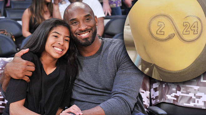 Kobe Bryant's sister gets tattoo tribute to honour her niece and her brother