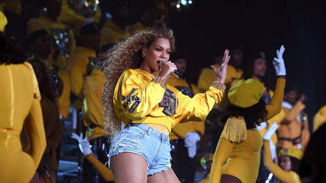 Beyonce Singing At Coachella