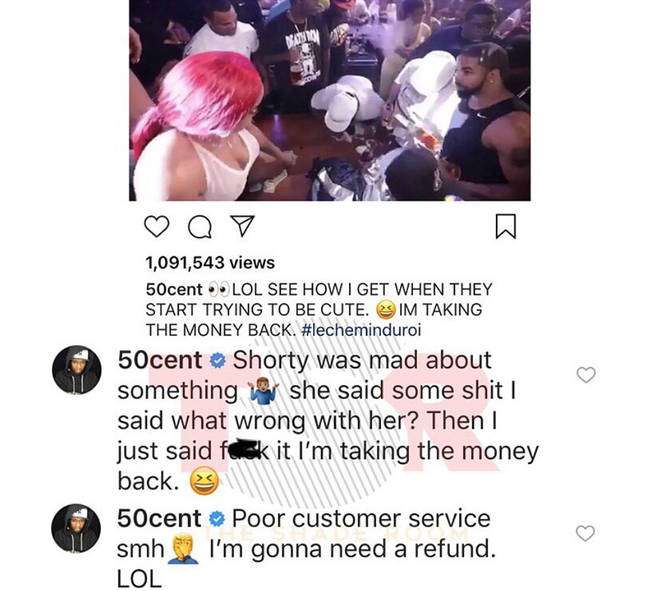 50 Cent Responding To Strip Club Backlash