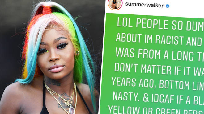 Summer Walker responds to fans labelling her 'xenophobic' over her Coronavirus post