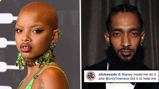 Slick Woods gets Nipsey Hussle inspired face tattoo