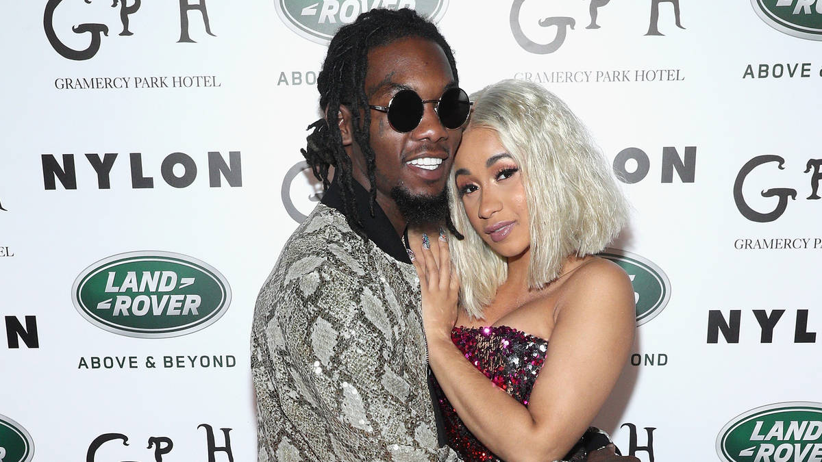 Offset Gets Daughter Kulture Kiari S Name Tattooed On His: Cardi B & Offset Reportedly Trademark Newborn Daughter
