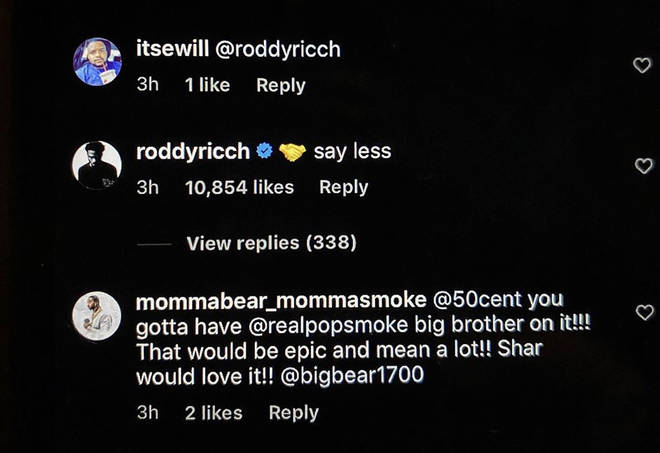 Roddy Ricch agrees to being on Pop Smoke's album