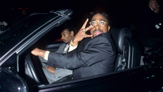 23rd Annual American Music Awards - Snoop Dogg & Tupac