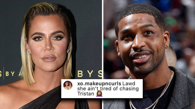 "Khloe Kardashian has been accused of ""chasing"" ex Tristan Thompson"