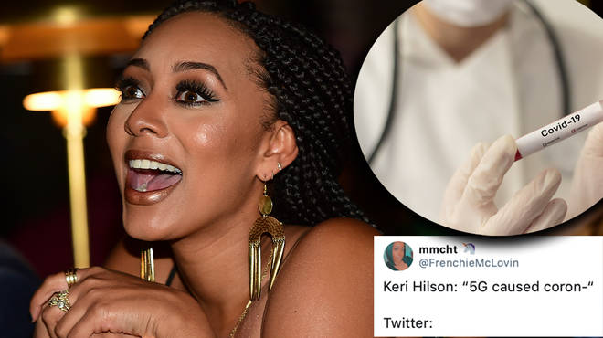 Keri Hilson shares a Coronavirus conspiracy theory and Twitter goes crazy