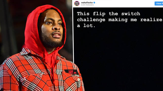 Waka Flocka Flame slams the FlipTheSwitch challenge