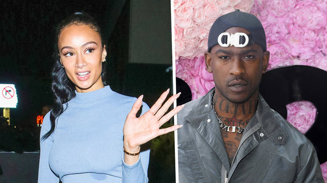 Draya shoots her shot with UK rapper Skepta