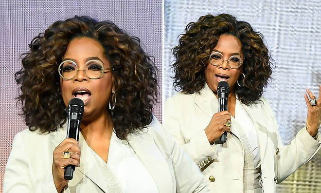 Oprah has denied rumoured calming she was arrested for sex trafficking.
