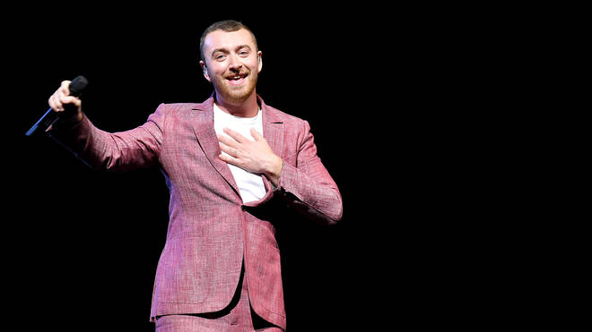 Sam Smith Performing In New York