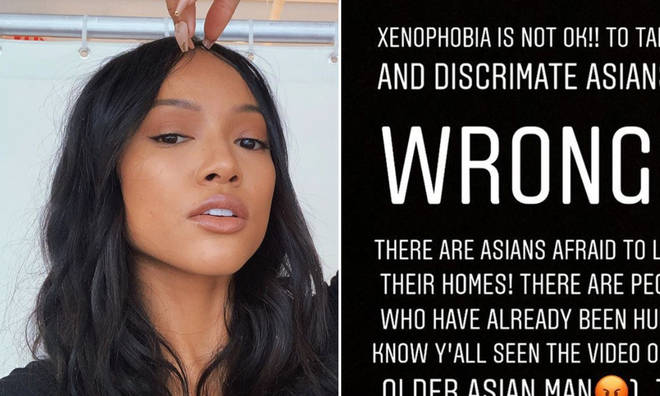 Karreuche Tran slammed the being xenophobic towards Asians.