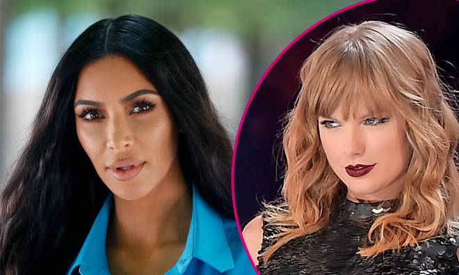 Kim Kardashian and Taylor Swift 'react' to leaked Kanye West 'Famous' video