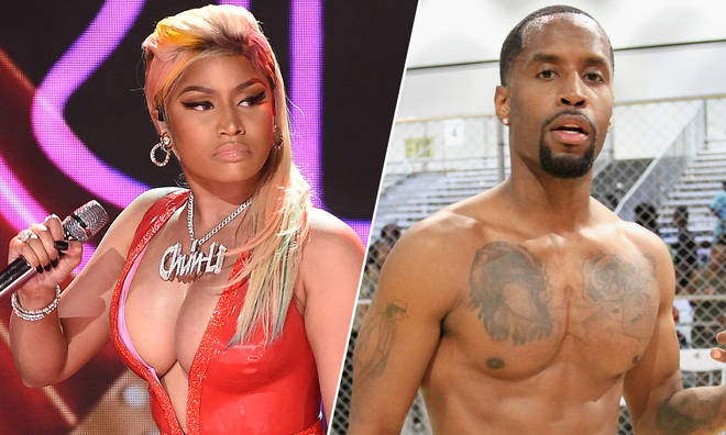 Nicki Minaj and Safaree Samuels.
